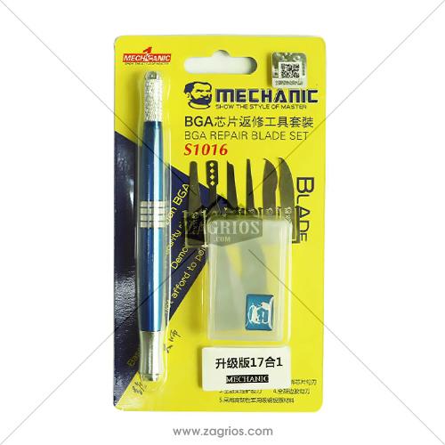 دسته تیغ تعویض آی سی Mechanic S1016