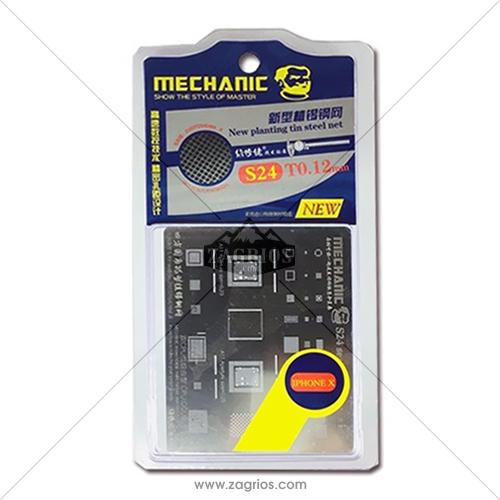 شابلون تعویض آی سی آیفون Mechanic S24 Iphone X