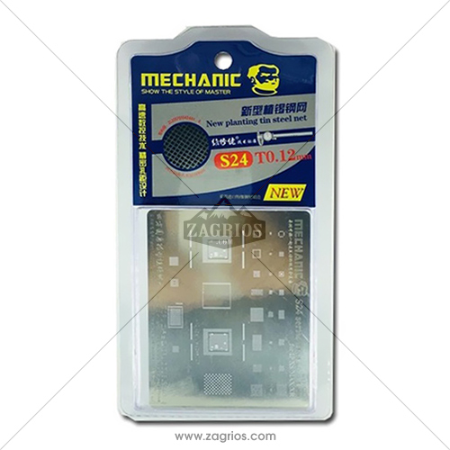 شابلون مکانیک آیفون Mechanic S24 iphone 6\6plus