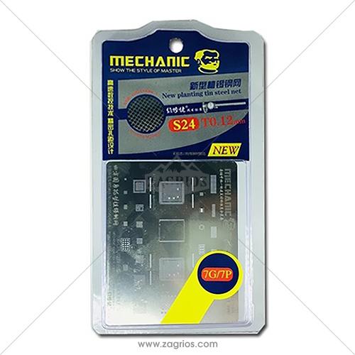 شابلون تعویض آی سی آیفون Mechanic S24 Iphone7 ,7Plus