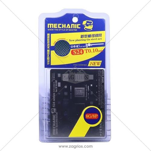 شابلون تعویض آی سی آیفون Mechanic S24 Iphone8 ,8Plus