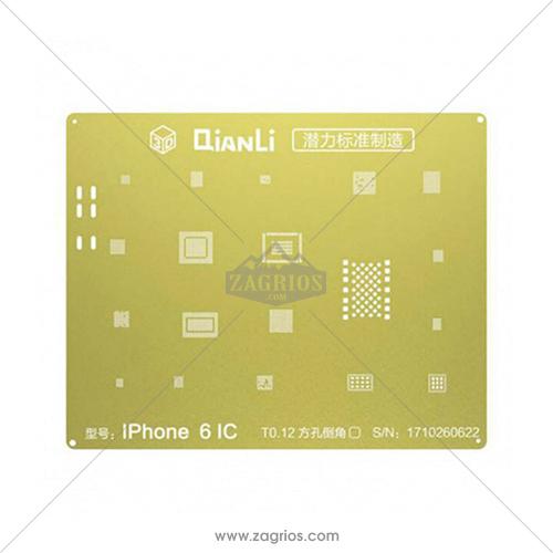 شابلون 3D آیفون6 مدل Qianli