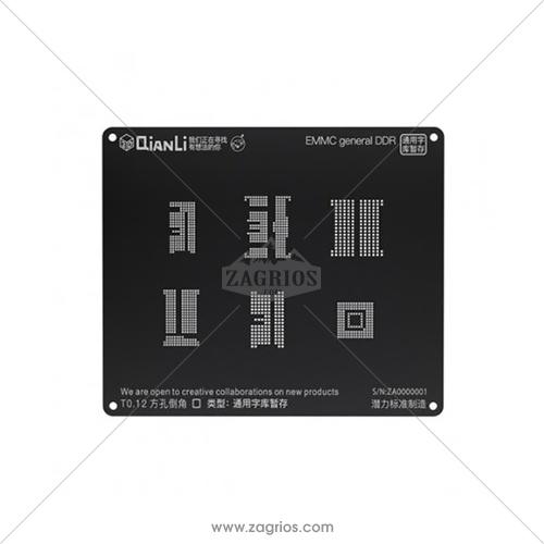 شابلون 3D اندروید EMMC General DDR مدل Qianli