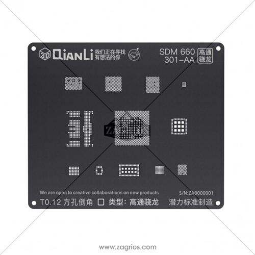 شابلون 3D اندروید Qianli مدل MSM 660