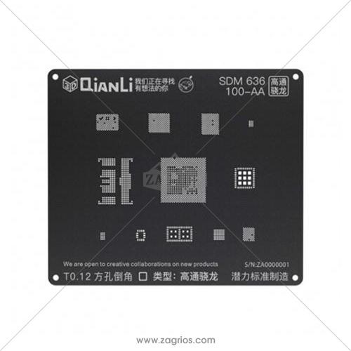 شابلون 3D اندروید Qianli مدل SDM 636