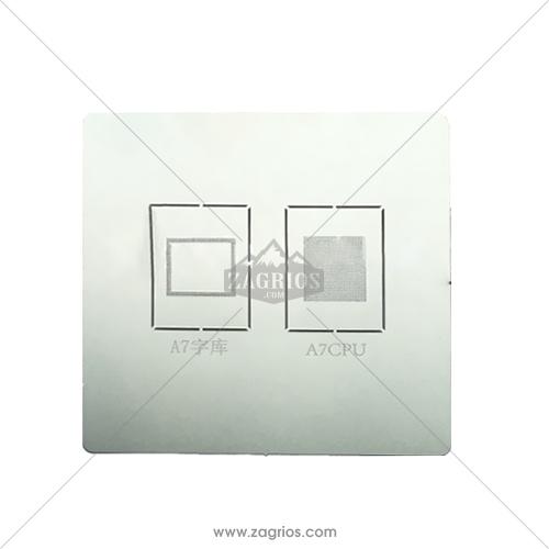شابلون CPU مدل A7 مخصوص گوشی های آیفون