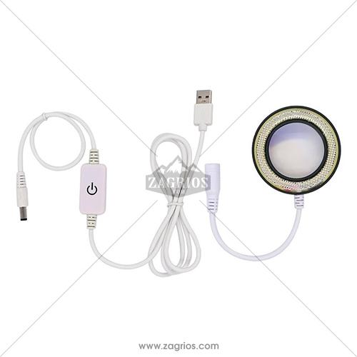 لامپ لوپ و میکروسکوپ SunShine SS-033C
