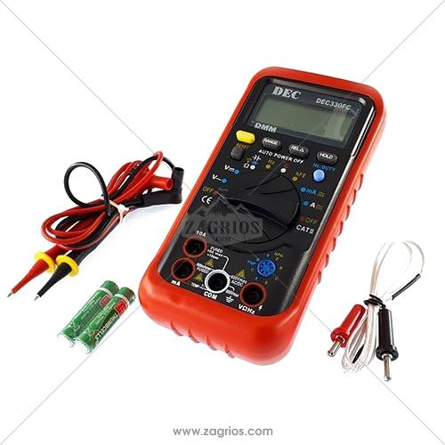 مولتی متر دیجیتال Multimetr-DEC330FC