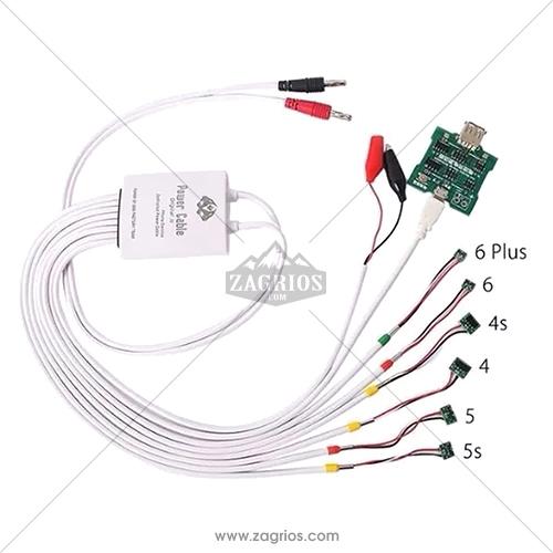 کابل منبع تغذیه و شوک باتری و برد شارژر گوشی آیفون I Power Cable Pro 2