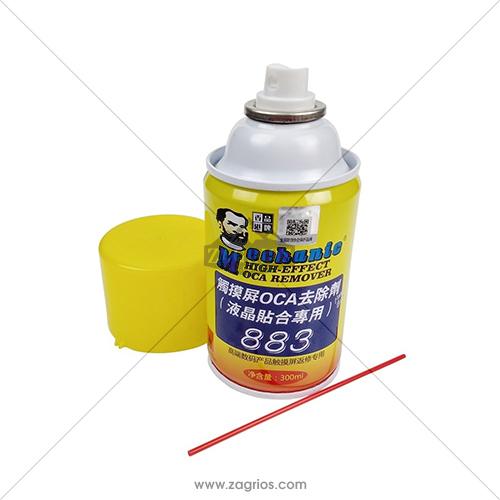 اسپری تمیز کننده چسب Mechanic 883