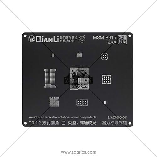 شابلون 3D ریبال مدل QianLi MSM 8917-2AA