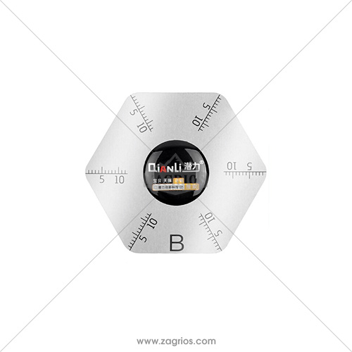 قاب بازکن فلزی شش ضلعی Qianli-B