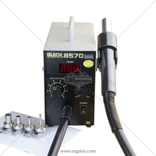 هیتر تعمیرات موبایل مدل Quick 857D