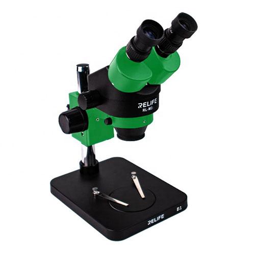 لوپ (میکروسکوپ) دو چشمی ریلایف Relife RL-M3-B1