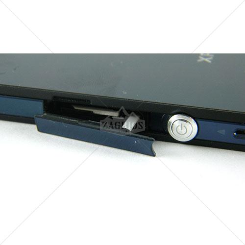 درپوش شارژ و سیم کارت Sony Xperia Z