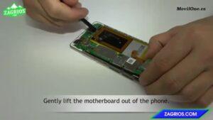 آموزش تعویض سوکت شارژ موبایل هوآوی P8 Lite