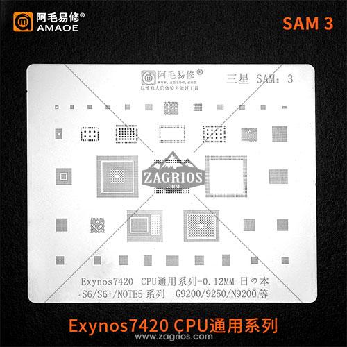 شابلون آموئی سامسونگ S6 / S6Edge / Note 5